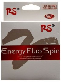 Леска RS Energy Fluo Spin 100м 0.40мм brown